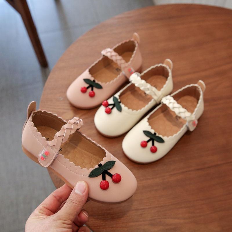 รองเท้าคัชชูหนัง สไตล์เกาหลี สำหรับเด็กผู้หญิง