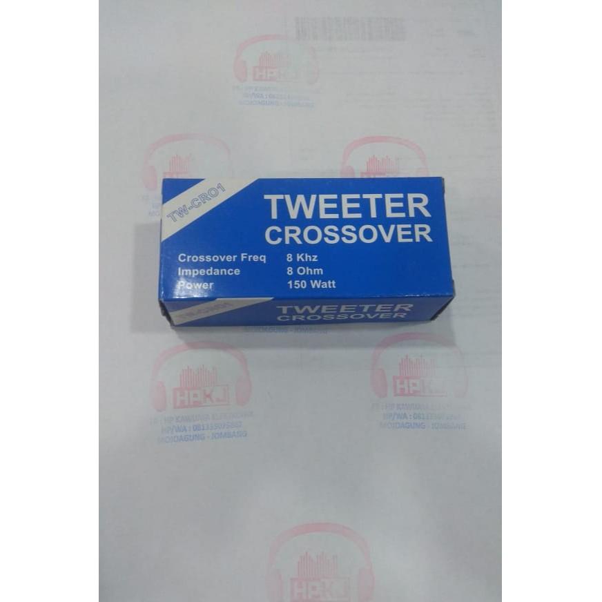 Tweeer Crossover Tw-cro1 อุปกรณ์แหนบสีฟ้า Tw - Cro1