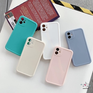 Review Camera Protection Bumper Shockproof iPhone Case for Phone 12 Pro Max 11 Pro Max Xs XR 8 7Plus SE Candy Color Square Glossy Soft TPU Cover