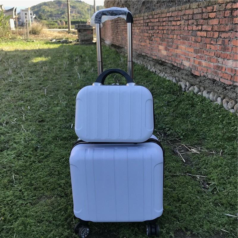 กระเป๋าเดินทางล้อลากขนาด 14 นิ้ว 16 นิ้วขนาดพกพา