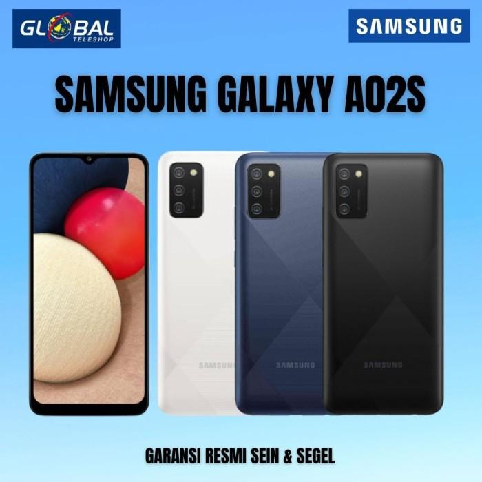 Samsung Galaxy A02S Smartphone (3/32GB) Garansi