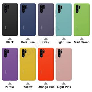 Review 9 Colors Official Original Silicone Real Liquid Soft Case Huawei P30 Pro Casing Huawei P30 Cover