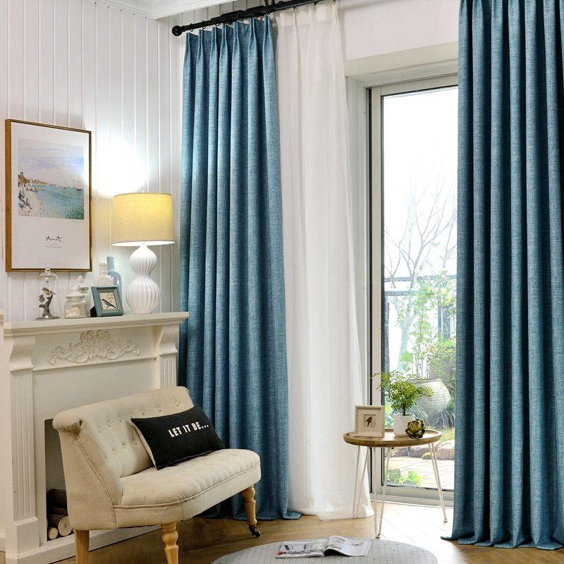 300*270 CM ผ้าม่านประตู ผ้าม่านหน้าต่าง ผ้าม่านสำเร็จรูป ม่านเวลโครม่านทึบผ้าม่านกันฝุ่น ใช้ตีนตุ๊กแก