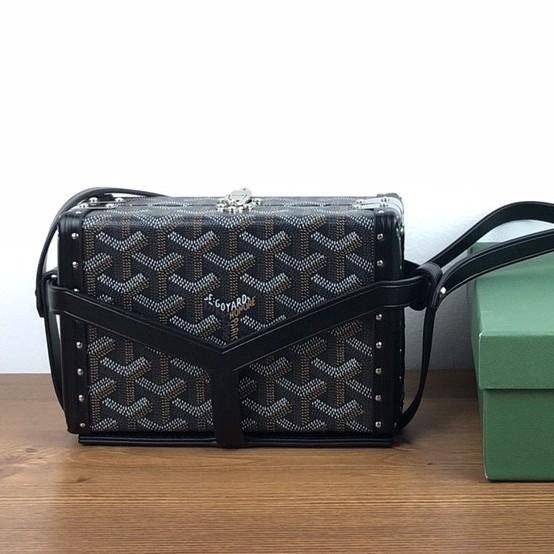 Goyard Limited Edition Retro Box Bag กระเป๋าสะพายสุภาพสตรี