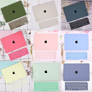 Lastest Cream Protective Hard Plastic Hollow Logo Case For New Apple Macbook Air M1 13 A2337 A2179 A1932 A1466 Pro 13 15 16 Keyboard Cover A2338 A2289 A2251 A1706 A1989 A2159 A1708 A2141