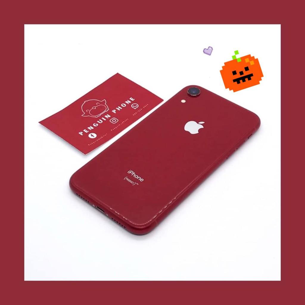 iPhone Xr 64GB สี Red มือสอง สภาพ 97% [ไอโฟนมือสอง iPhoneมือสอง ไอโฟนมือ2 ไอโฟนราคาถูก โทรศัพท์มือสอง มือสอง]