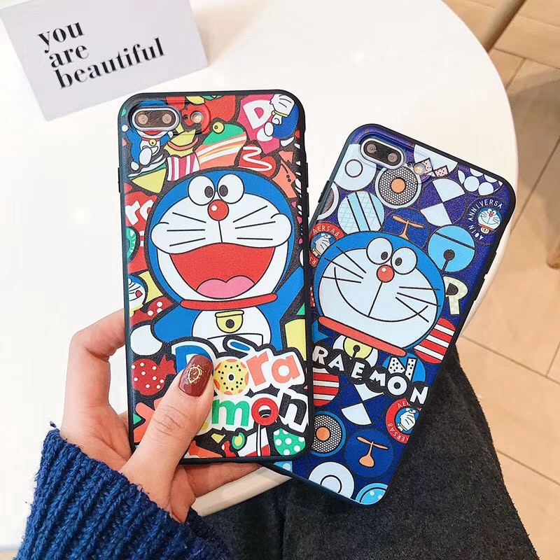 เคส Samsung M11 A11 A51 A70 A50 A30 A20 A10 A50s A30s A10s A9 A7 A6 M31 M30s J8 J7 J6 J5 J4 J2 Prime Pro Plus 2018 Cartoon Doraemon soft case เคส