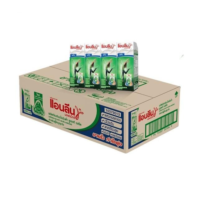 นมผง นม เอนชัวร์ [ขายยกลัง] แอนลีน มอฟแม็กซ์ นมยูเอชที 12x4x180 มล. (48 กล่อง)