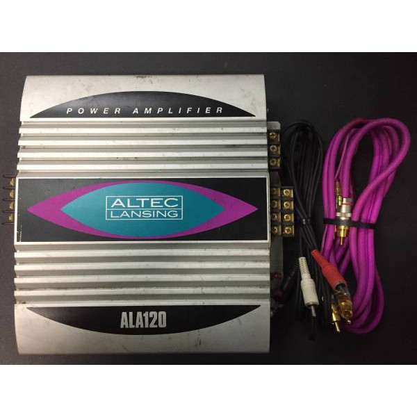 แอมป์ Altec Lansing ALA120 Made in USA นำเข้า Excellent article ALTECH ★ ALTEC ALA120 amplifier 30w X 4ch
