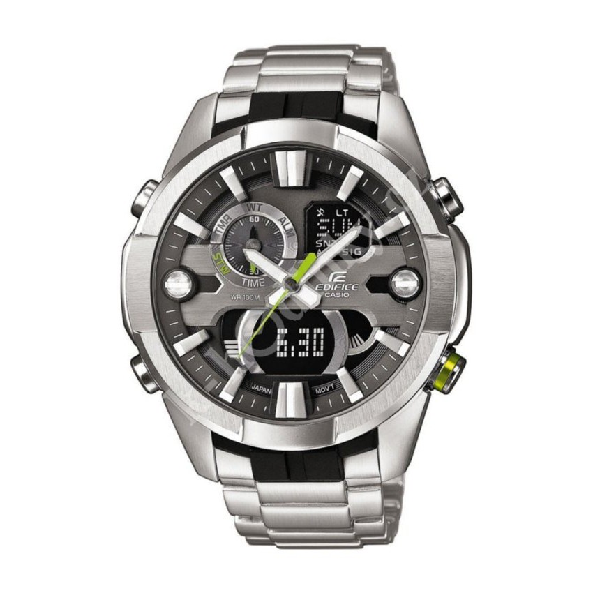 Casio นาฬิกาผู้ชาย สายสแตนเลส รุ่น ERA-201D-1A