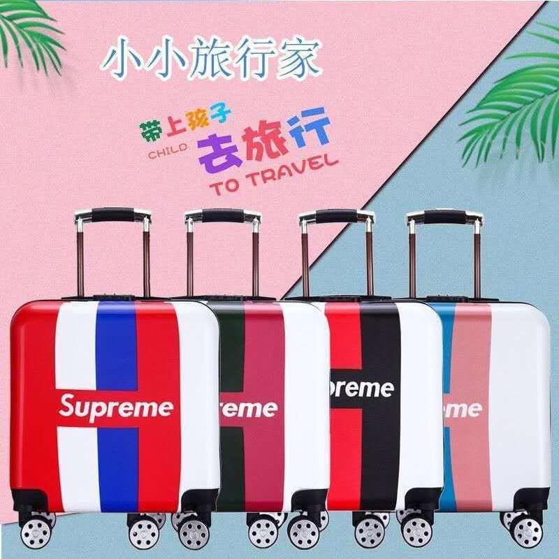 กระเป๋าเดินทางขนาด 18 นิ้ว 20 นิ้วสําหรับเด็ก