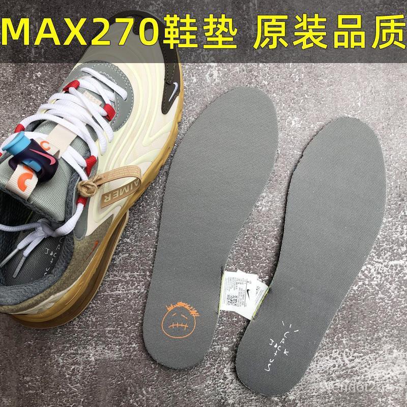 แท้100% NIKEการปรับตัวของNikenike Air Max270TSร่วม ZOOMพื้นรองเท้าคุณภาพเดิมmax90 97รองเท้าวิ่ง
