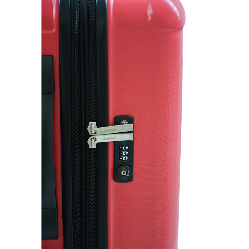 CALVIN KLEIN CK-733 CK Logo Suitcase กระเป๋าเดินทางล้อลากรุ่น โลโก้ซีเค มี 3 สี 3 ไซส์ KCRV
