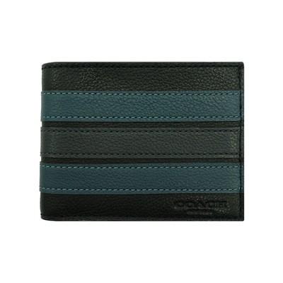 ムϟกระเป๋าสตางค์Coach [ตรง] Coach กระเป๋าสตางค์ใบสั้นผู้ชาย Coach ที่ใส่บัตรกระเป๋าผู้ชายกระเป๋าถือกระเป๋าใส่เหรียญ
