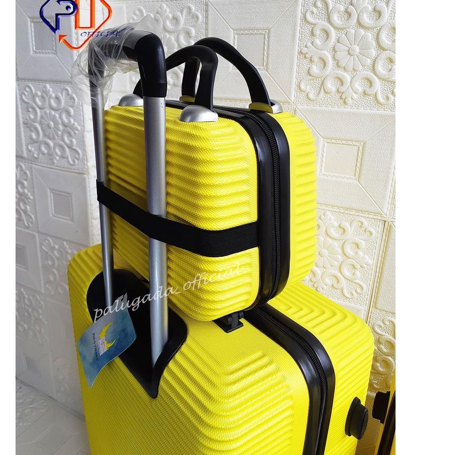 Hot Code-491 กระเป๋าเดินทาง (can 3 Luggages) Abs 010 24 นิ้ว + 20 นิ้วเคสไฟเบอร์ 12 นิ้ว