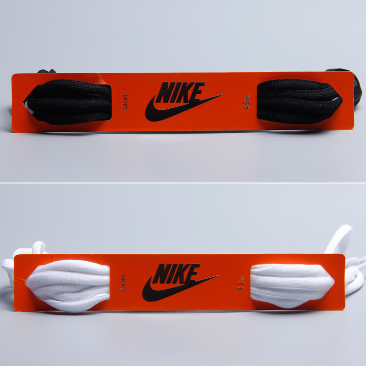 เชือกผูกรองเท้าเดิมไนกี้/NIKE AIR MAX 270รูปไข่ลูกไม้ใหม่ครึ่งวงกลมเบาะลูกไม้90cm C8vd