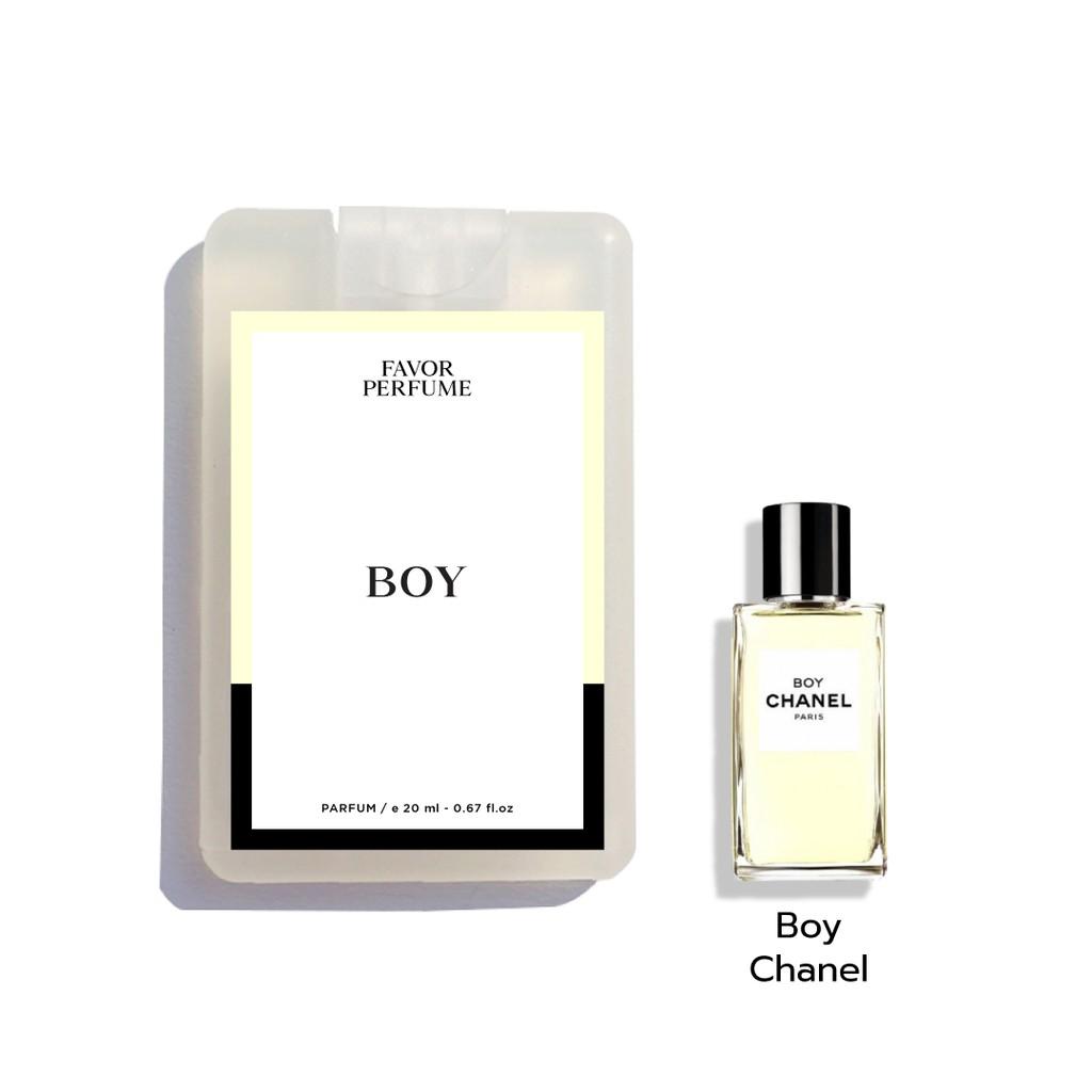 น้ำหอม Boy หอมแบบ Boy Chanel น้ำหอมพกพา ขนาด 20 ml Parfum น้ำหอมติดทน 6-8 ชั่วโมง น้ำหอม Unisex