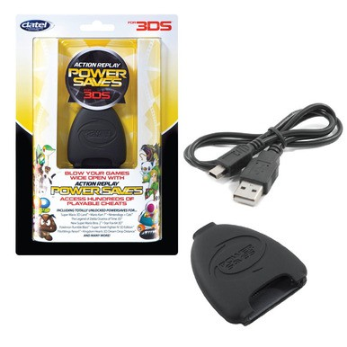 Action Replay Powersaves (Nintendo 2DS / 3DS XL / 3DS)