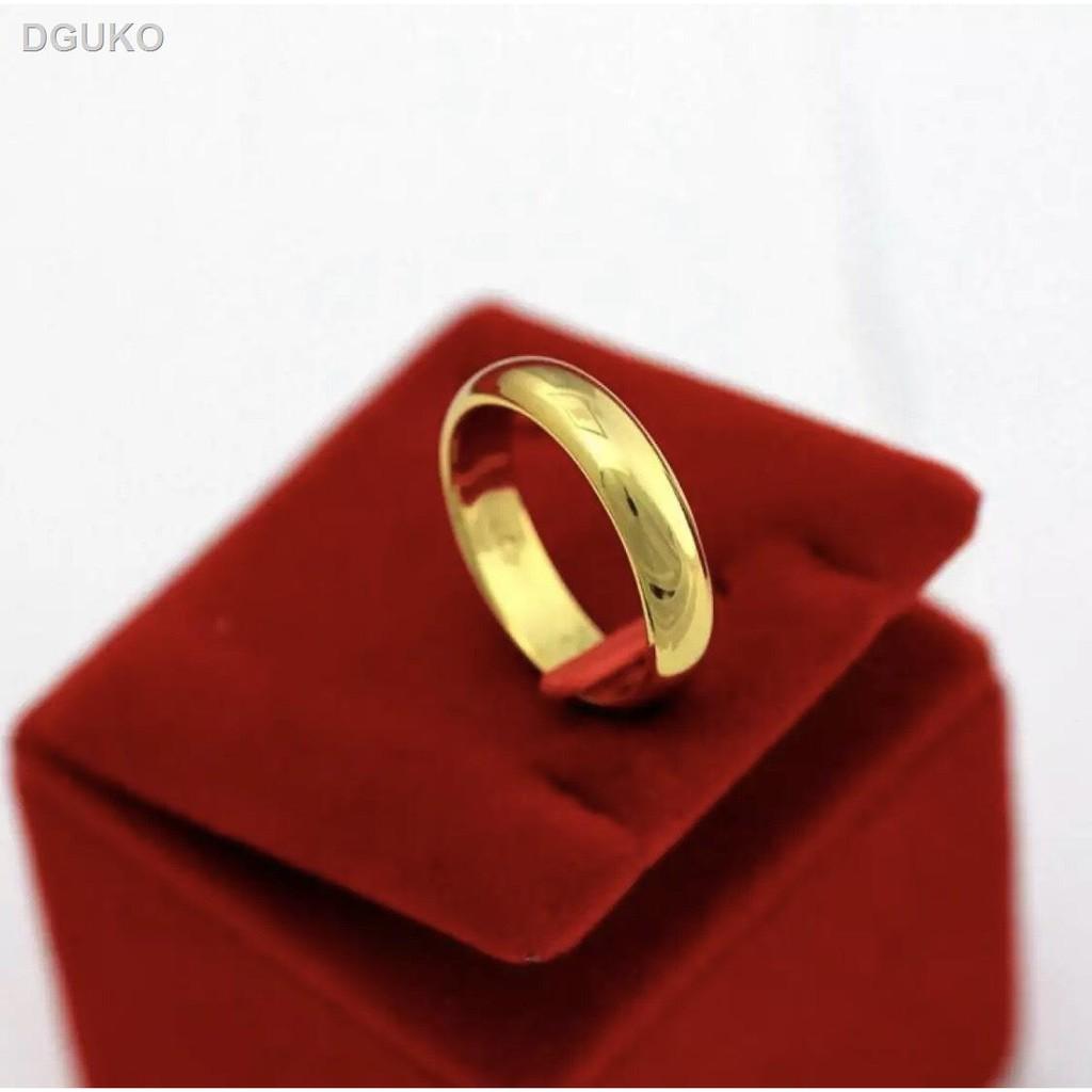 🌷สินค้าคุณภาพดีราคาถูก🌷●แหวนเกลี้ยง 1-3สลึง แหวนเศษทองเยาวราช แหวนหุ้มทองคำแท้ งานไมครอน กว้าง3มิลแหวนต่งาน ิแหวนหมั