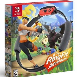 Nintendo : NS Ring Fit Adventure (US-Asia) Eng Ver. สำหรับใช้กับเครื่อง Nintendo Switch