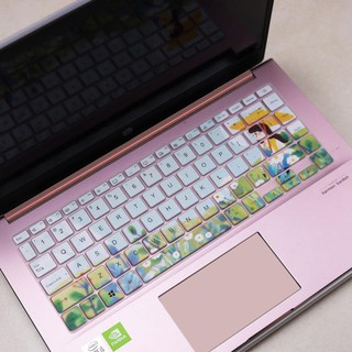 ▲♂เหมาะสำหรับ ASUS Adou 14-2020 Computer Dustproof X Cover V4050 Protection Sticker Lingrui 14 Notebook Keyboard Film