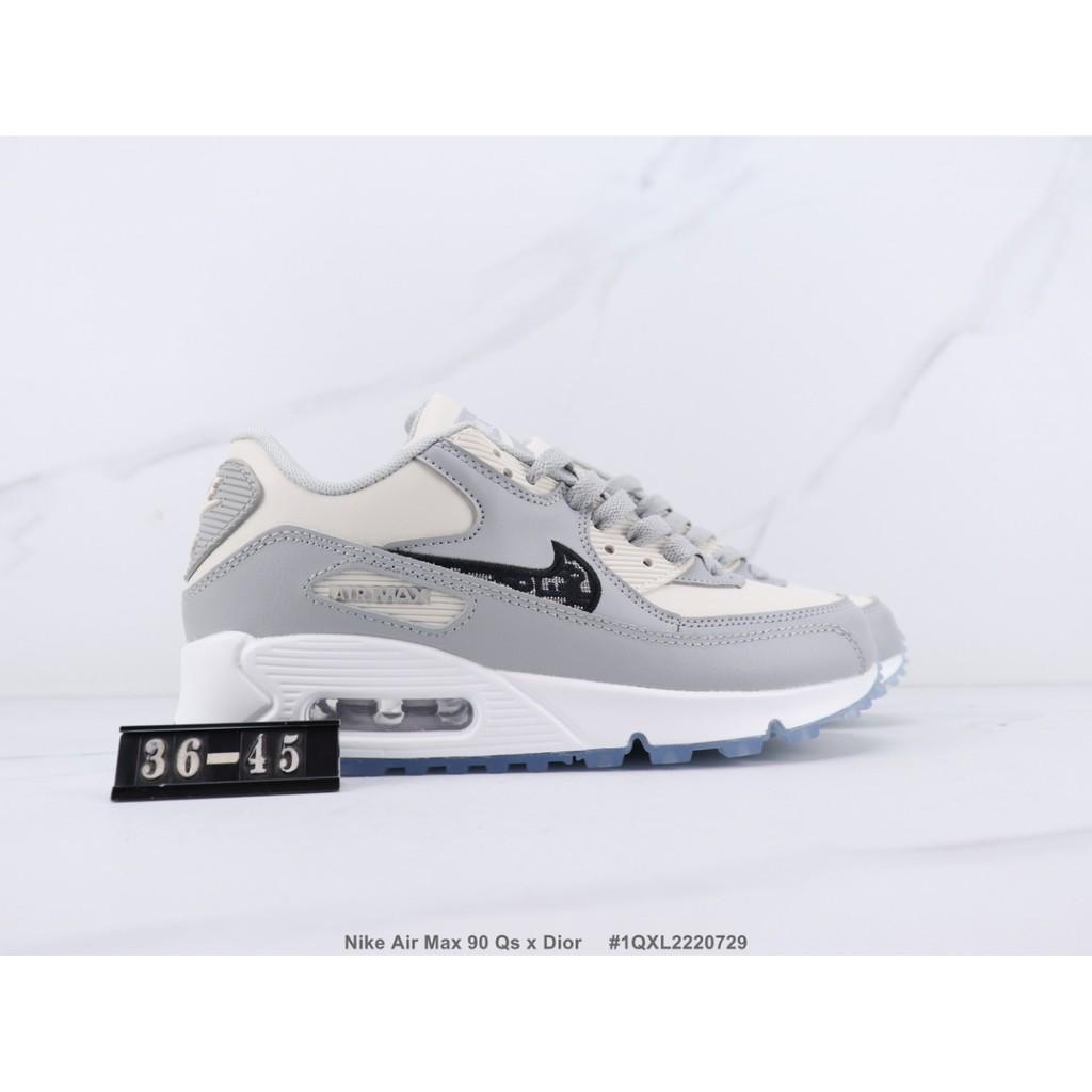 Nike Air Max 90 Qs X Dior 90 รองเท้าวิ่ง