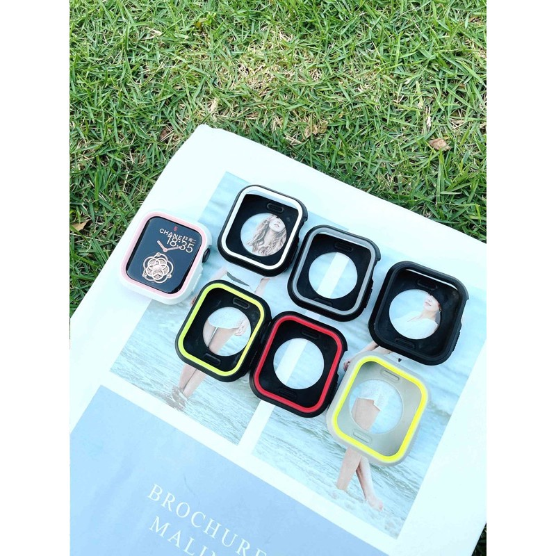■✈( 👍🏻👍🏻 พร้อมส่ง งานใหม่ 👍🏻👍🏻 ) เคสนาฬิกาข้อมือ Apple Watch สไตล์ Nike แบบยางซิลิโคน สำหรับ Series 4 5 6 ขนาด 4