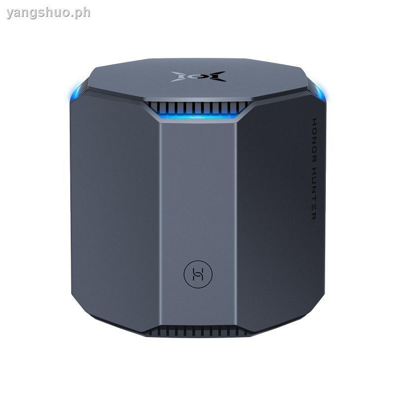 Huawei S Honor Hunter Router 5 G Tri - Band 2100 M Full Gigabit Port Ipv6 อินเตอร์เน็ตไร้สายสําหรับเล่นเกม