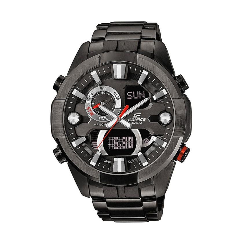 Casio นาฬิกาผู้ชาย สายสแตนเลส รุ่น ERA-201BK-1A