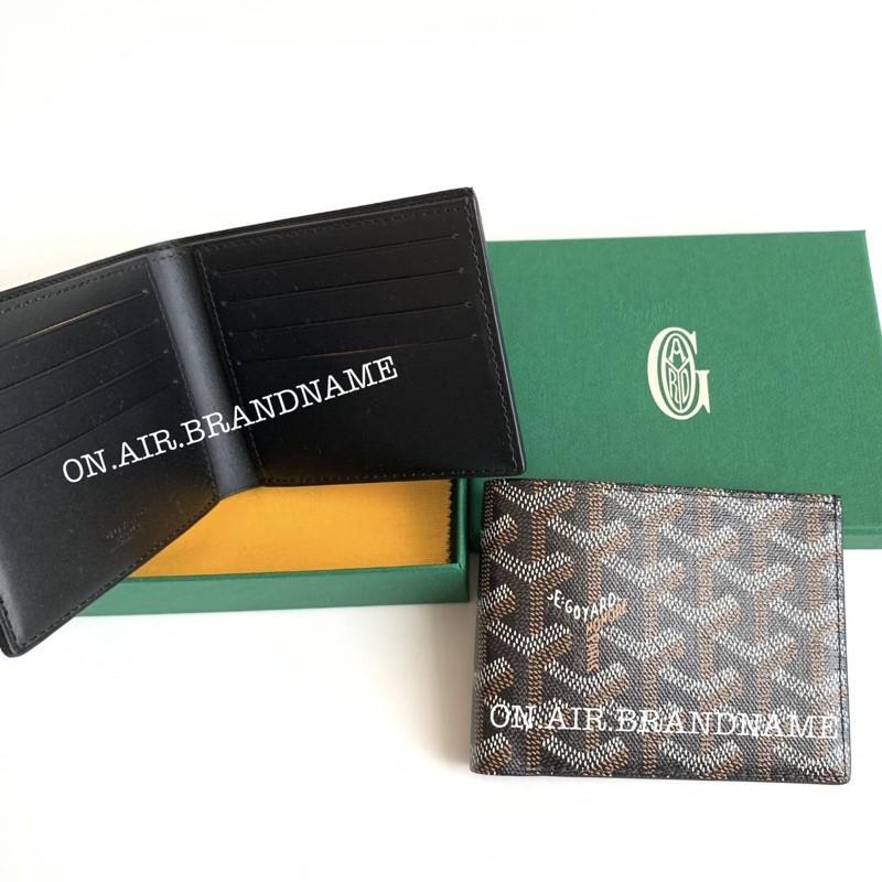 ✻❏■☄₪❁New goyard wallet สีดำ สวยคลาสสิค หายาก