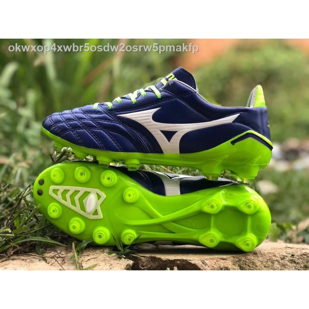 【มีสินค้า】🔥มีของพร้อมส่ง🔥ลดราคา🔥✓❧ﺴรองเท้าสตั๊ด รองเท้าฟุตบอลMIZUNO MORELIA NEO II JAPAN ส่งฟรี!!!