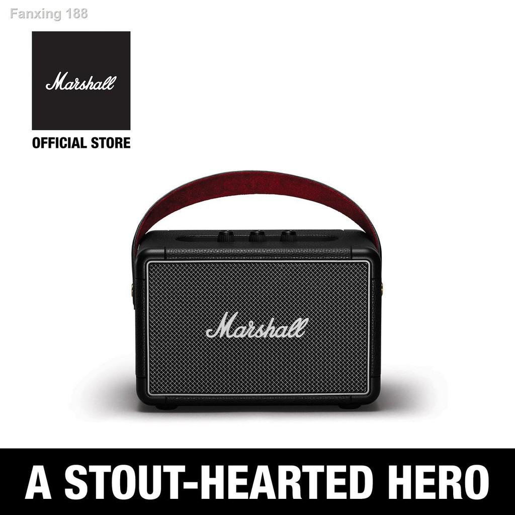 เตรียมส่งของ!✤ลำโพงบลูทู ธ Marshall Kilburn II Bluetooth สีดำ - 1 ปี + ส่งฟรีทั่วไทย (ลำโพงบลูทู , ลำโพงพกพา, ลำโพงขนาด