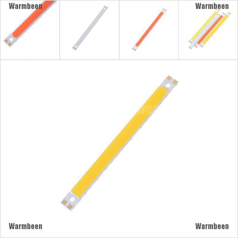 warmbeen 120x10 มม. 12v 10 w led cob โคมไฟแผงไฟ 4 สี