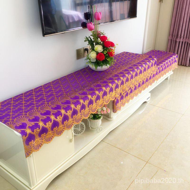Nordic INS Wind Waterproof Floral Tablecloth Anti-Dust Coffee Table Coverกันน้ำตู้ทีวีผ้าปูโต๊ะปั๊มร้อนโต๊ะกาแฟโต๊ะผ้าแผ่นโต๊ะข้างเตียงปกรองเท้าตู้ปกผ้าร้านอาหารผ้าปูโต๊ะบ้านทิ้ง