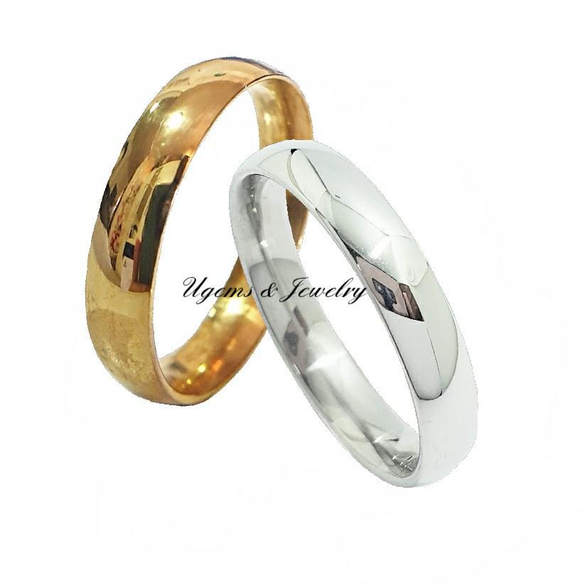 แหวนทอง 1สลึง ทองไม่ลอก ไม่ดำ เงาใส หุ้มทอง 18K มีไซส์ใหญ่ 67# ทนทาน ตลอดอายุการใช้งาน