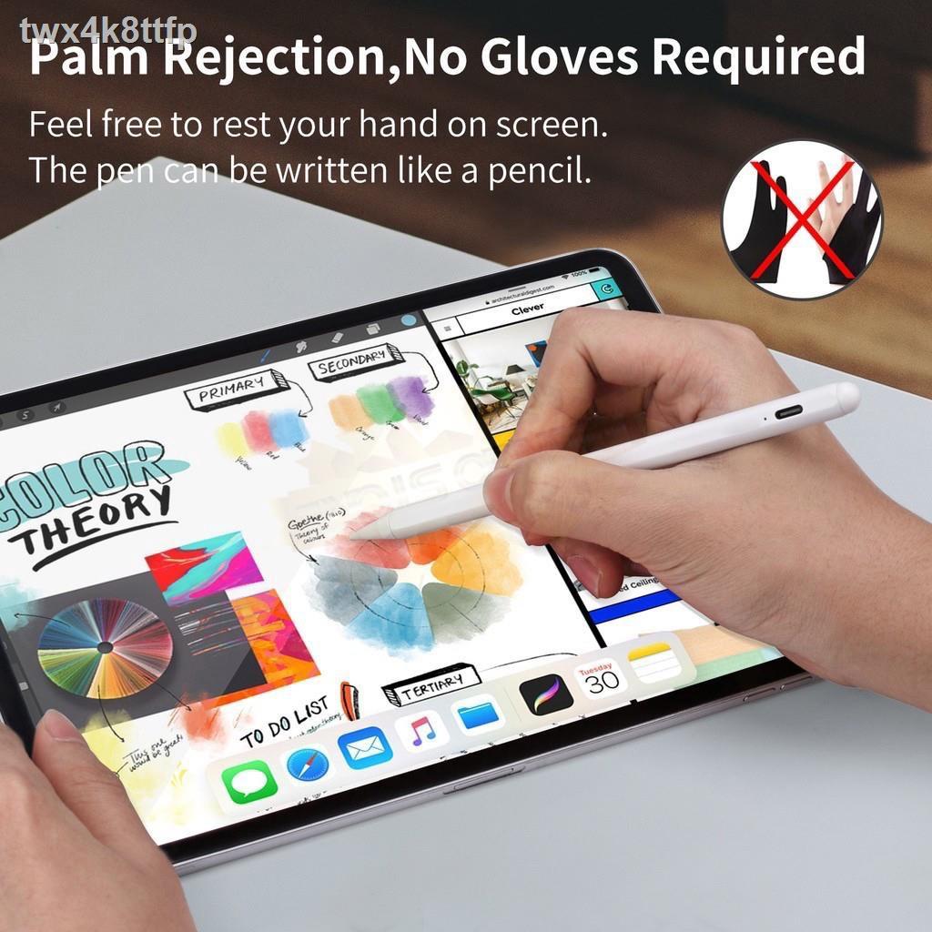 ☁❈[วางมือบนจอได้] เหมือน Apple Pencil ปากกา ipad stylus gen7 2019 applepencil 10.2 9.7 2018 Air 3 Pro 11 2020 12.9