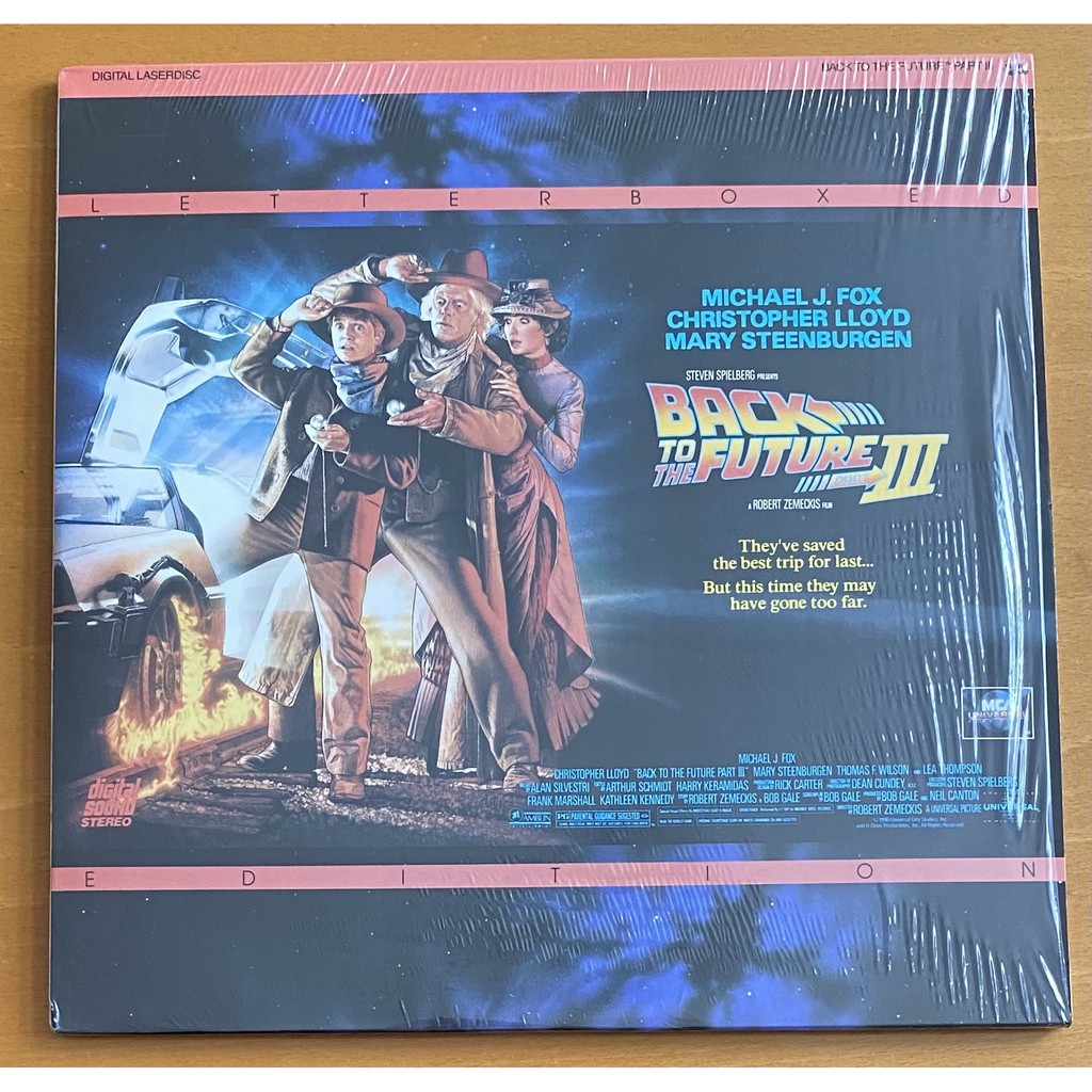 แผ่นหนังเลเซอร์ดิสก์ Laser Disc (มือ 2) : Back to the Future ไตรภาค ฿1,599