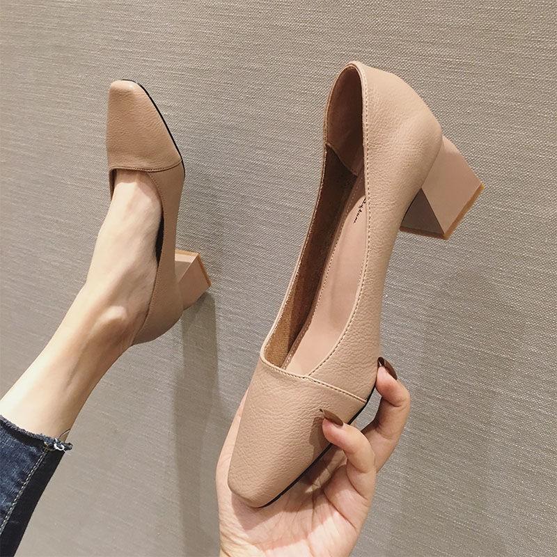 รองเท้าส้นสูง❤️รองเท้าผู้หญิง💖รองเท้าคัชชู💖รองเท้าส้นแก้ว💖รองเท้าคัทชูผู้หญิงรองเท้าส้นสูง รองเท้าส้นสูงแฟชั่น  ส้นตั