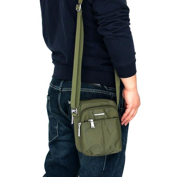 กระเป๋าใบเล็กแนวทแยงผ้า Oxford ของผู้ชายเดินทางเดี่ยวขนาดเล็กลำลองกระเป๋าเป้สะพายหลังกระเป๋าสะพายกันน้ำ cross mini ใหม่