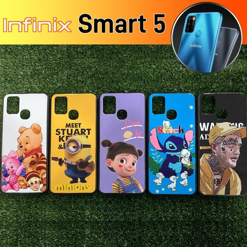 เคส ขอบยาง TPU 3D Pattern Case  ลายการ์ตูน  สำหรับ Infinix Smart 5