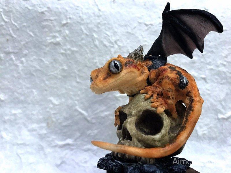 Resin Figure Kit lizard Animal Unpainted Garage Resin Kit TJJD