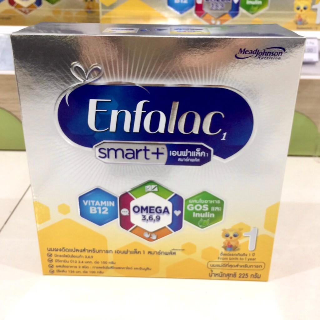 Enfalac smart+ สูตร 1 225 กรัม