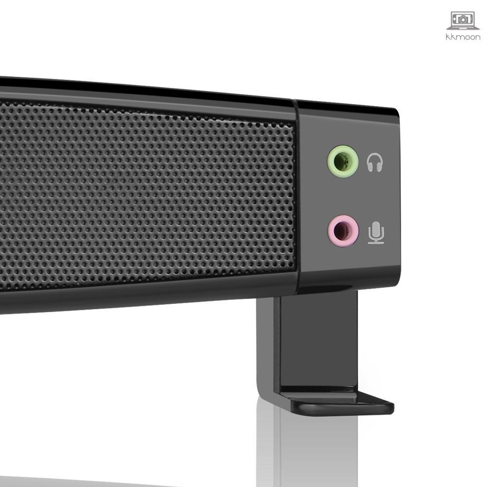 Smalody Soundbar USB Powered ลำโพงซับวูฟเฟอร์พร้อมไมโครโฟน