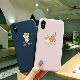 Review Cute dog iphone6/6s เคส iphone7 เคสไอโฟน iphone8plus เคส tpu case iphone6plus iphone xsmax เคส case