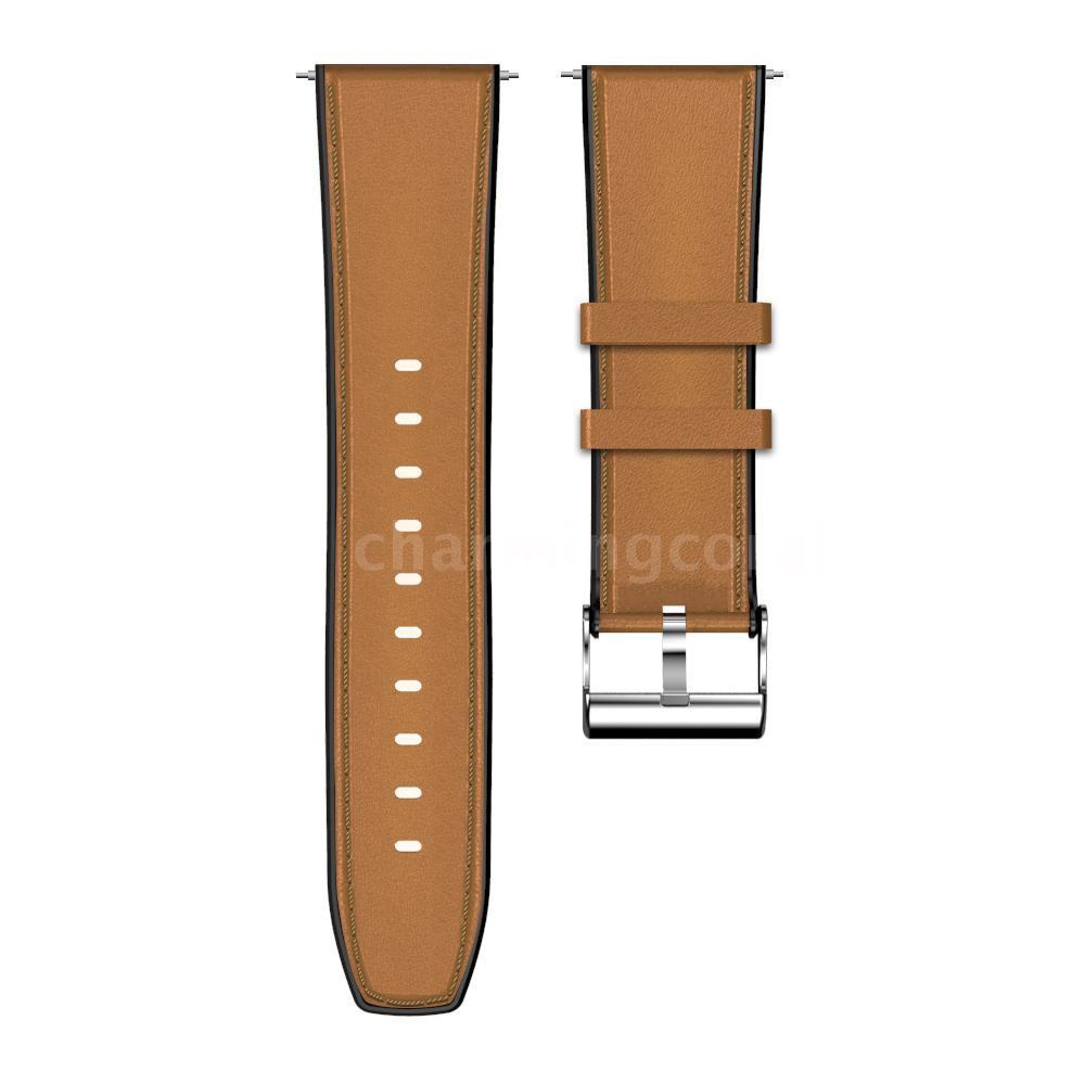 Kospet Optimus สายนาฬิกาข้อมือซิลิโคน 24 มม . สีน้ําตาล 8fHp