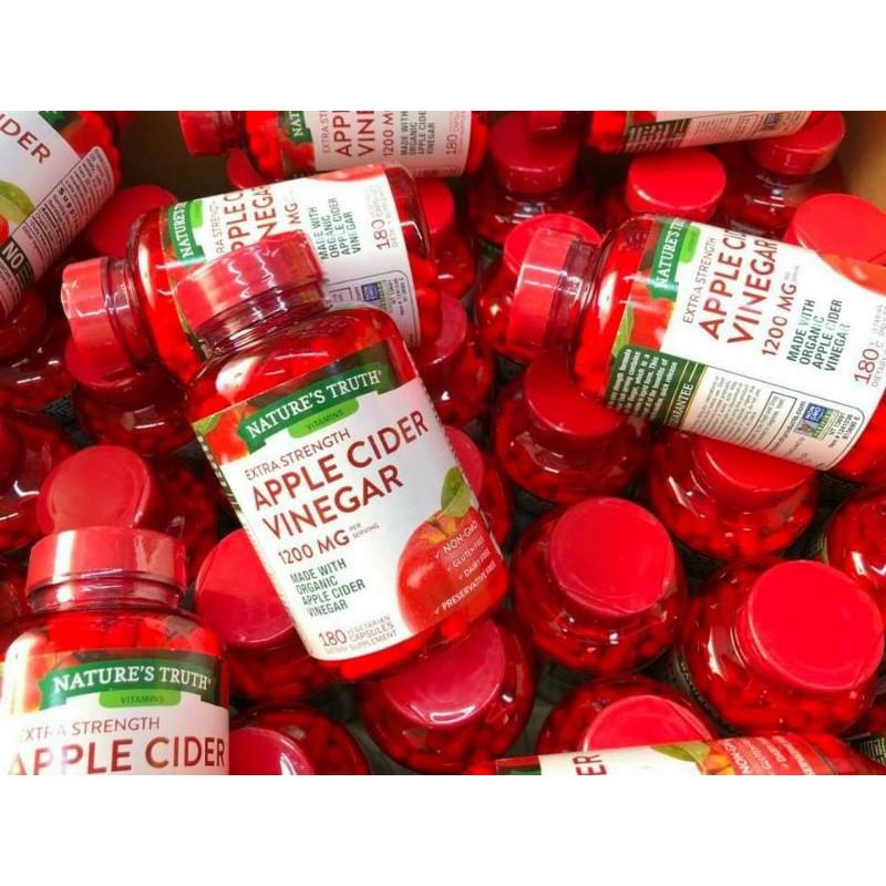 Nature's Truth Apple Cider Vinegar 1200 mg