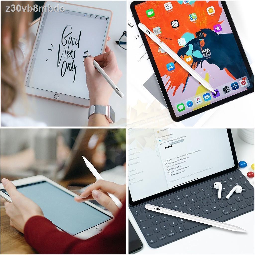 ⊙♕✷[วางมือบนจอได้] เหมือน Apple Pencil ปากกา ipad stylus gen7 2019 applepencil 10.2 9.7 2018 Air 3 Pro 11 2020 12.9