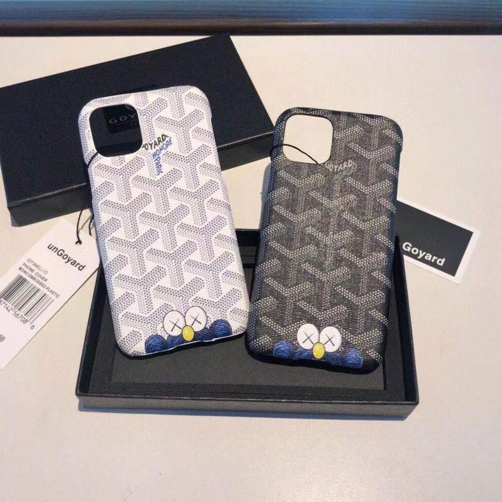 Goyard Case Iphone เคสสำหรับใส่มือถือ เคสโทรศัพท์ เคสมือถือ ลวดลายน่ารัก ดีไซน์เก๋
