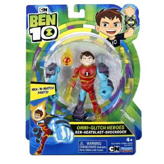 Ben 10 Figures x 2 FOUR ARMS and ECHO ECHO