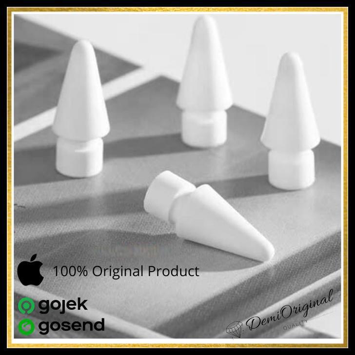 อะไหล่เปลี่ยนดินสอ Apple Pencil Tip สําหรับ Ipad Gen 1 & 2 Original